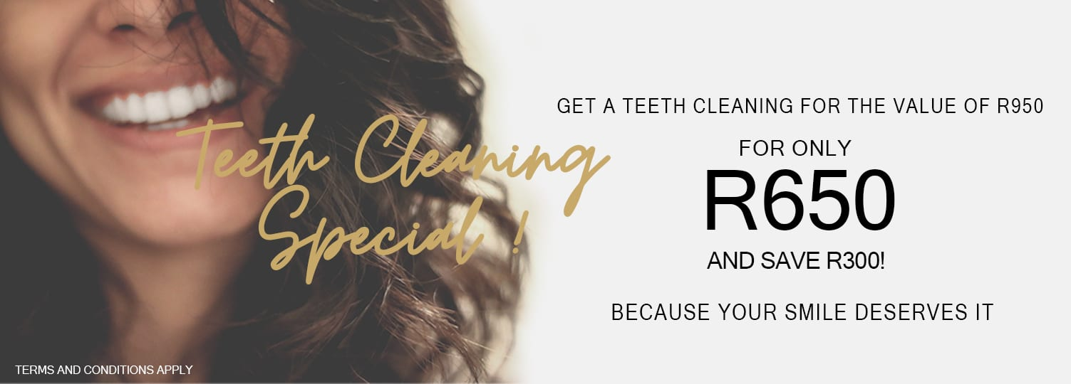 Teeth Cleaning Special Cape Town